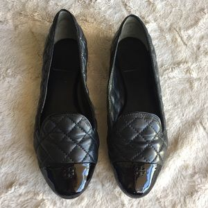 Tory Burch Quilted Loafers, 6.5